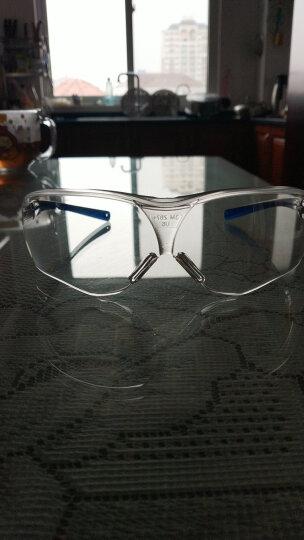 3M 眼镜 防风挡沙 流线型 护目镜 10434 晒单图