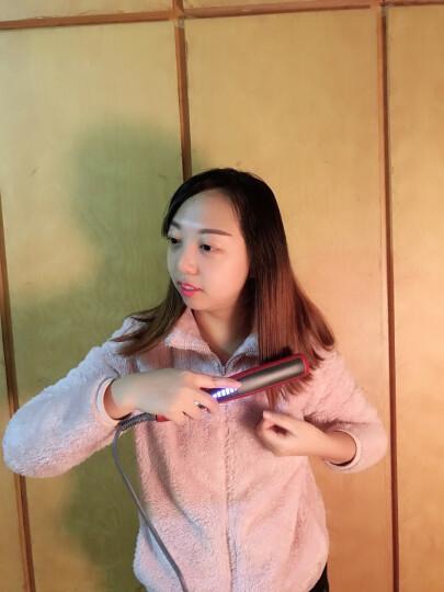 金稻(KingDom) 负离子直发器 陶瓷直卷发两用梳拉直板夹内扣夹板 直发卷发棒卷发器 KD388 晒单图