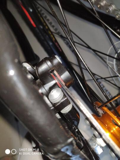 永久27变速自行车山地车27.5寸铝合金公路车男女学生成人单车双碟刹减震越野A9乐途 高配 黑红色 爆款 晒单图