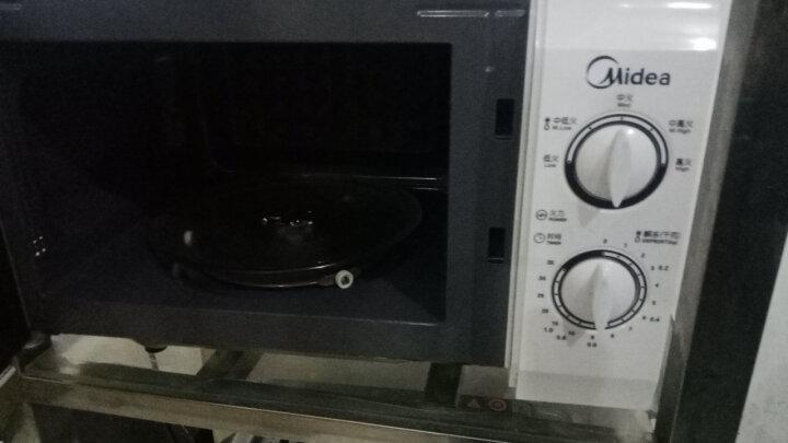 天勤 微波炉转盘微波炉玻璃托盘转盘玻璃盘托盘子适用格兰仕、美、LG、三星的等 中心三角28.4CM 晒单图