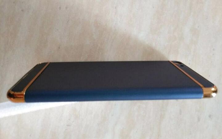 TIMECITY vivo x7手机壳x7 plus全包保护套超薄硬壳创意男女 宝石蓝-5.2英寸(适用于x7) 晒单图