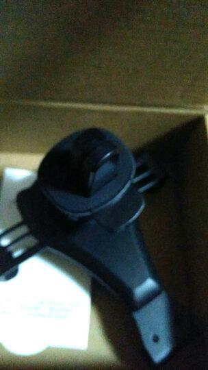 G-DOO 车载手机支架出风口汽车导航车用重力卡扣支架4.5-6英寸苹果华为安卓三星OPPO小米通用 【魔力灰】自动式重力感应*金属质感 晒单图