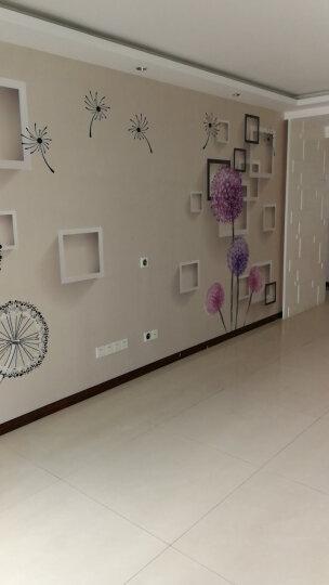 卡茵现代简约3D立体大型壁画客厅电视背景墙壁纸影视墙纸整张无缝自粘墙布 法国加厚绸缎布/平方米 晒单图
