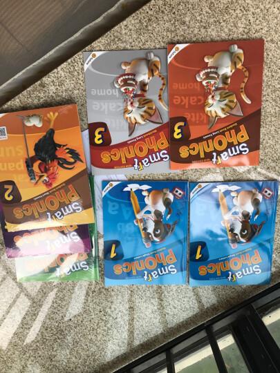 原版引进少儿英语自然拼读教材 new smart phonics 1-5级学生包套装 晒单图