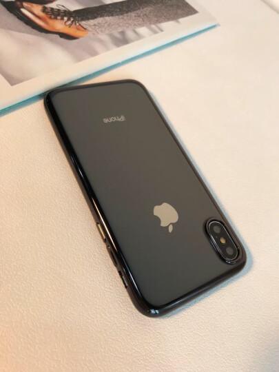 亿色(ESR)苹果X/XS钢化膜背膜 iPhoneX/XS通用钢化背膜  全屏覆盖高清防爆手机玻璃保护后贴膜 白色 晒单图