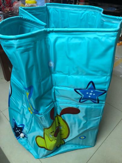 诺澳 新生幼婴儿游泳池家用 大号儿童戏水海洋球池 可调支架游泳桶免充气宝宝洗澡浴桶 中号蓝色+气圈/底部夹棉保温款-均码脖圈套餐 晒单图