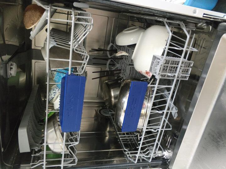 西门子 SIEMENS 德国原装进口 5D喷淋智能洗 双重烘干13套独立式除菌洗碗机SN255I13JC(不锈钢色) 晒单图