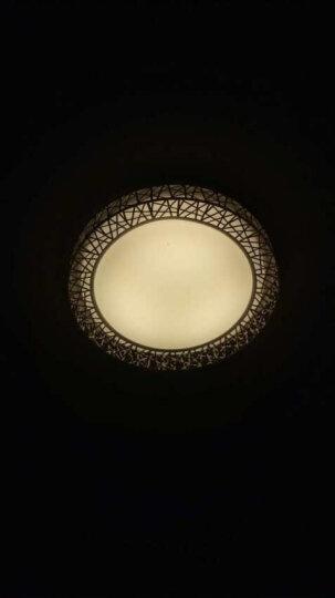 金幻LED吸顶灯客厅灯长方形水晶灯具套餐简约现代灯饰 蝴蝶水晶客厅遥控调光80瓦80*60cm 晒单图