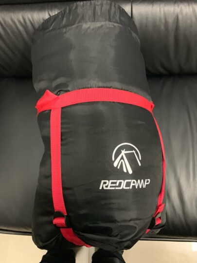RedCamp 成人睡袋户外 办公室睡袋室内午休 旅行露营保暖睡袋大人便携式 如羽1.4kg灰色 晒单图