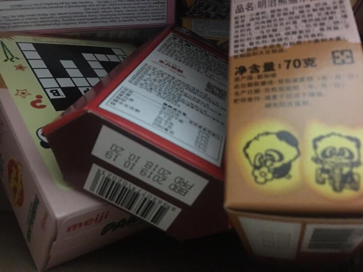 新加坡进口 明治(Meiji)熊猫双重巧克力夹心饼干50g 晒单图