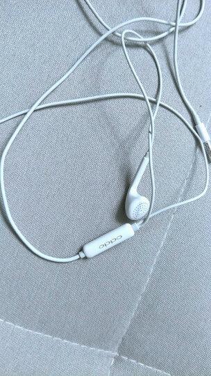 OPPO耳机原装正品 r15 r17 r11s findx k1手机耳机入耳式有线vivo苹果通用 MH133耳塞式(原厂盒装) 晒单图