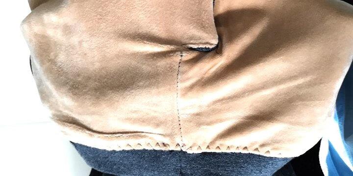 卡森羊(Casun&Sheip) 男童羊毛裤加绒加厚保暖裤羊绒裤中大童打底裤针织毛线裤棉裤 男童加绒细条深灰色 140适合身高135-145cm 晒单图
