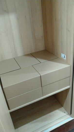 鞋盒透明抽屉式纸盒整理盒环保加厚桌面收纳盒鞋子包装盒靴盒男女鞋盒收纳箱收纳盒储物盒 马丁3号20个 晒单图