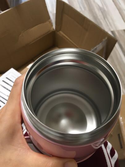 慕厨(Momscook) 焖烧罐焖烧杯304不锈钢保温饭盒真空防漏防溢焖烧壶500ml 粉色 晒单图