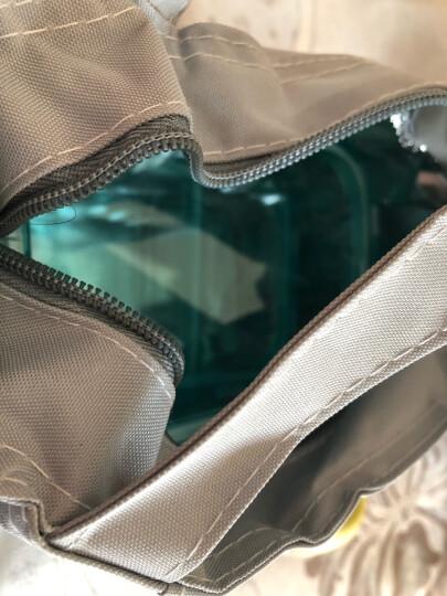 比得兔(Peter Rabbit)全分隔耐热玻璃保鲜盒两件套 烤箱微波炉便当饭盒 送包(640+660ml)PR-T851 晒单图