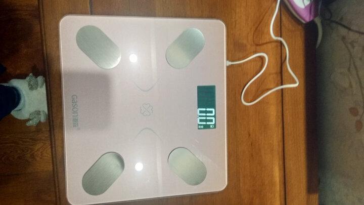 港森(GASON)智能体脂秤 电子秤 体重秤 升级68项人体健康数据 蓝牙APP控制 称脂肪减肥秤 S5玫瑰金(充电款) 晒单图