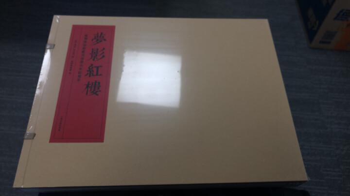 梦影红楼—旅顺博物馆藏孙温绘全本红楼梦(套装全二册)(线装) 晒单图