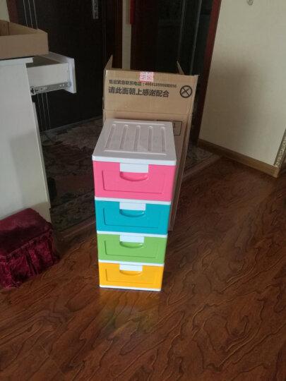 禧天龙Citylong塑料收纳柜抽屉式儿童衣物整理柜彩色42L1601 晒单图