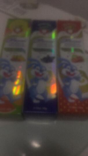 蜜语Missoue儿童婴儿牙膏 无氟60g蓝莓味1-3-6-12岁宝宝换牙期防蛀进口 晒单图