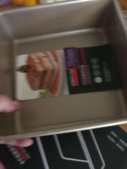 阳晨烘焙模具三件套装 蛋糕面包饼干烘焙工具 烤箱用烘焙模具(6寸蛋糕模+2磅土司模+28CM正方形烤盘)樱花粉 晒单图
