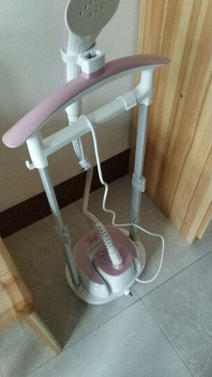 美的(Midea)2L 双杆 可卧可立蒸汽挂烫机 家用手持/挂式电熨斗YGD20D8(粉白色) 晒单图