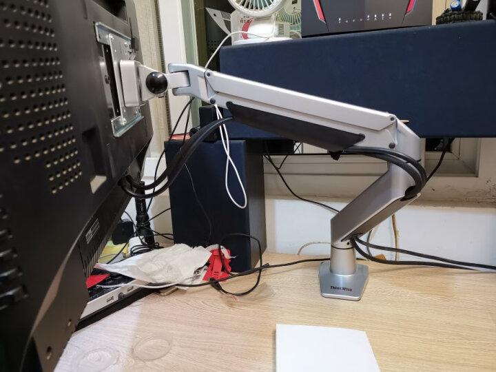 慧想(ThinkWise)显示器支架转200*200显示屏通用转接板扩展片安装板CP101 银色(不含中间VESA转接板) 晒单图