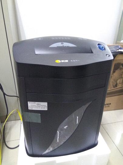 科密(comet)黑金刚+ 大型长时间办公商用碎纸机 31L大容量纸张文件粉碎机 碎卡碎光盘 晒单图