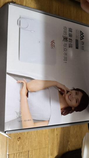 香山 电子秤 可充电USB  测室温 四两起称 EB839(玫瑰金) 晒单图