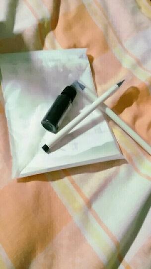 御宝阁 新毛笔水彩漫画|手绘|书法毛笔软笔 可加墨钢笔式毛笔小楷书法笔签字笔抄经笔秀丽笔 软笔套装【两支笔+一瓶墨+40张字帖】 晒单图