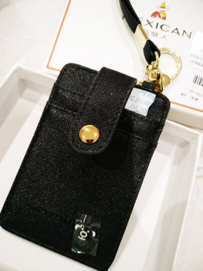 稻草人(MEXICAN)女士卡包薄款驾驶证信用卡门禁公交卡套证件夹可爱包包挂件MXD20125L-06卡其 晒单图