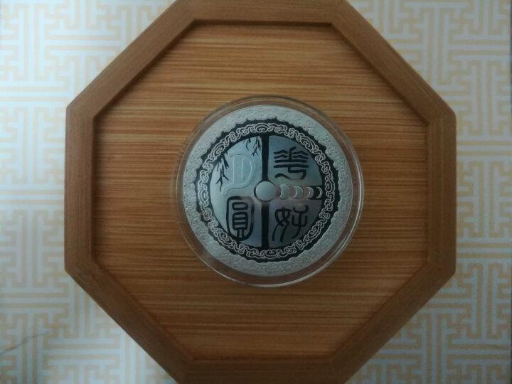 上海集藏 中秋银月饼花好月圆彩色银章 30克 晒单图