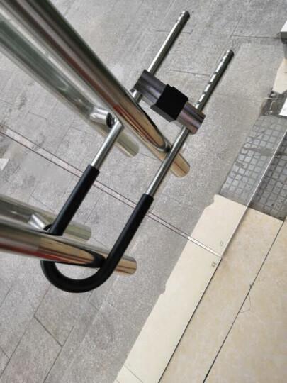 赛拓(SANTO)0068 高强度抗剪防撬U型门锁安全锁 双开玻璃门锁电动车锁摩托车锁 晒单图