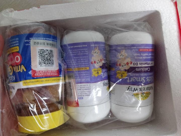 佳思敏Nature's way儿童爆浆液体钙+维生素D补钙胶囊 50粒/瓶 6个月以上 儿童钙 晒单图