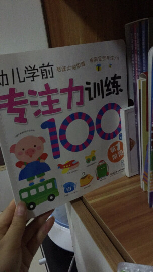 海润阳光·幼儿学前专注力训练100图(套装共4册) 晒单图