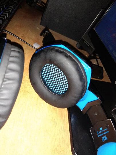 因卓(KOTION EACH) 电脑游戏耳机头戴式音乐智能降噪耳麦带麦克风话筒电竞绝地求生吃鸡 G2000 基础版 黑红色 晒单图