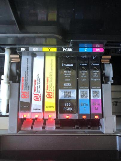 天威(PrintRite)CLI 851XL 黑色 适用佳能canon iX6780 IP7280 iX6880 MG7180 IP8780打印机墨盒 小黑 晒单图