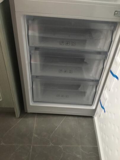 美菱(MELING)198升风冷无霜双门 节能静音 电脑控温 两门冰箱 亚光银 晒单图