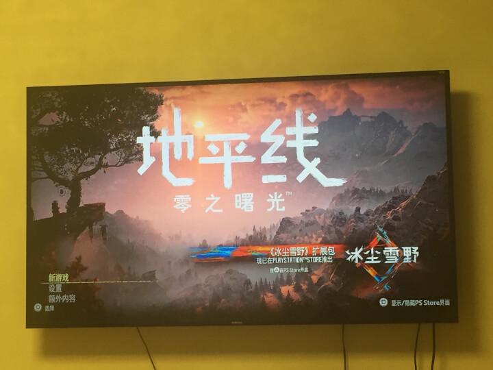 索尼(SONY) 【PS4正版游戏软件】PS4游戏机游戏光盘 《地平线 零之曙光》 晒单图