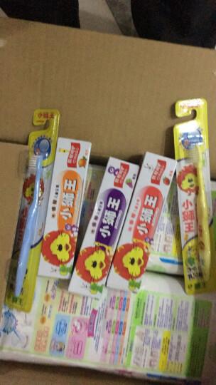 狮王 ( Lion ) 小狮王套装(3-6岁牙刷*2+(草莓+桔子+葡萄)儿童牙膏40g) 晒单图