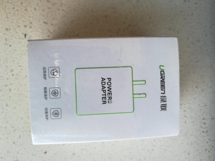 绿联 苹果充电器 安卓手机充电头USB插头 5V/1A快速电源适配器 支持iphoneX/XR/Xs Max/5s/6/6s/7/8/SE 20358 晒单图