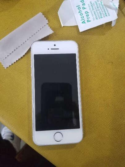 【免邮】络亚 苹果iPhone5s/iPhone SE 防爆钢化玻璃膜/手机保护贴膜5c (钢化膜+手机壳+手机支架)-特惠套装 晒单图