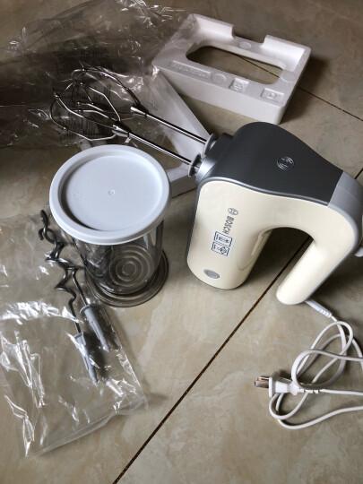 博世(BOSCH)料理机电动手持打蛋二合一打发 揉面MFQM440VCN白色 晒单图