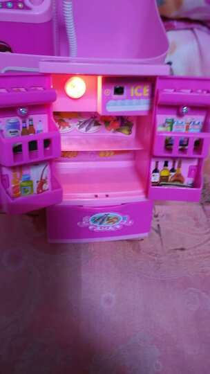 乐乐屋 洗衣机儿童过家家小家电做饭厨房厨具玩具套装马桶 女孩 宝宝玩具0-1-2岁幼儿园儿童礼物 3522-9大脸风扇 晒单图