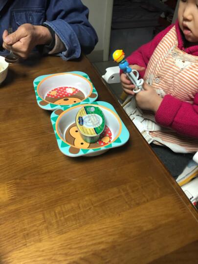 SKIP HOP可爱动物园仿瓷防摔儿童宝宝碗碟餐具组合-刺猬 6个月以上 美国新生儿 晒单图