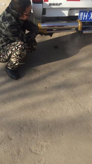 郑州日产尼桑皮卡后杠D22后杠NP300保险杠锐骐不锈钢后护杠厂家直销 柴油版P27带支架 晒单图