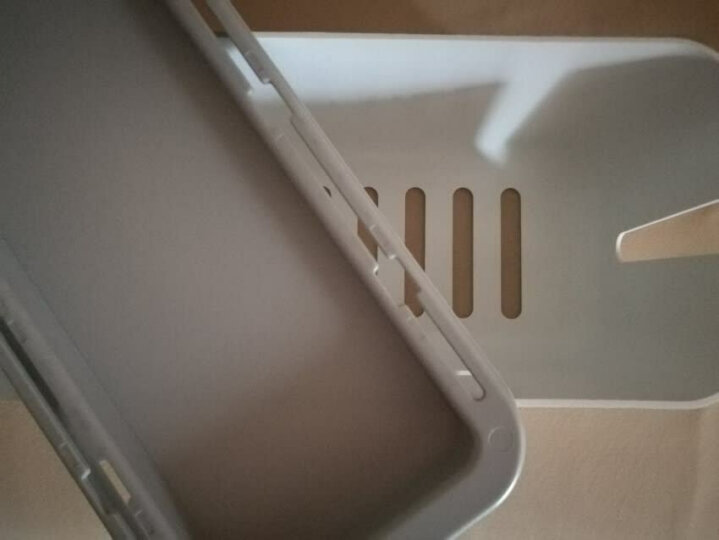 网易严选 网易智造 插座/排插/插排/插线板/排插防水防尘理线整理收纳盒 电源数据线充电器集线盒  白 晒单图