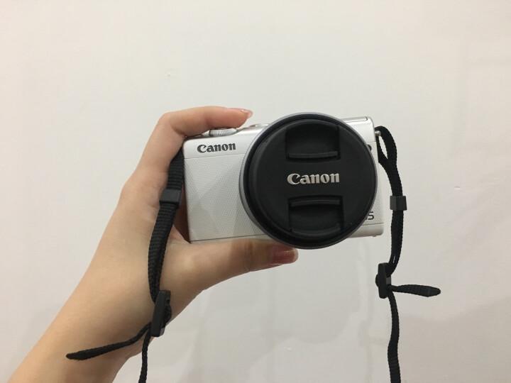 佳能微单(Canon)EOS M100 (15-45镜头白色套机)(2420万像素 触控翻转LCD 全像素双核对焦) 晒单图