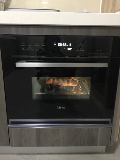 美的(Midea)蒸汽烤箱 嵌入式电蒸箱电烤箱 家用大容量蒸烤一体机 +名尚微波炉 晒单图