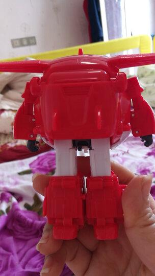 奥迪双钻(AULDEY)超级飞侠益智大变形机器人-乐迪 710210 男孩女孩玩具生日礼物 晒单图