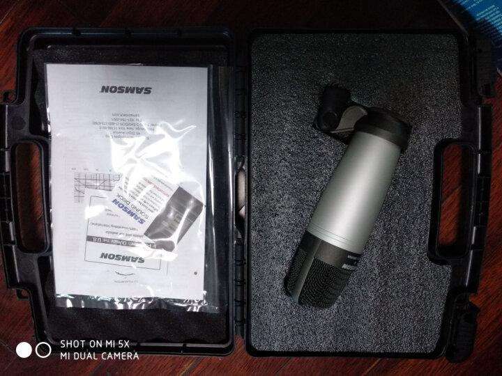 SAMSON 山逊c01大震膜主播设备套装电容麦克风手机声卡套装录音话筒网络k歌电脑麦克风 金麦克电源套装 晒单图